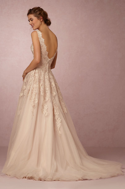 Eddy K Blush McKinley Gown | BHLDN