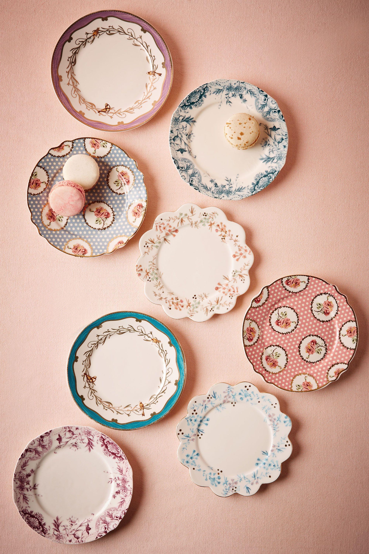 English Tea Plates (8)