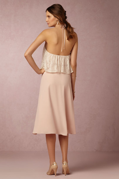 Paper Crown Blush Marin Dress | BHLDN