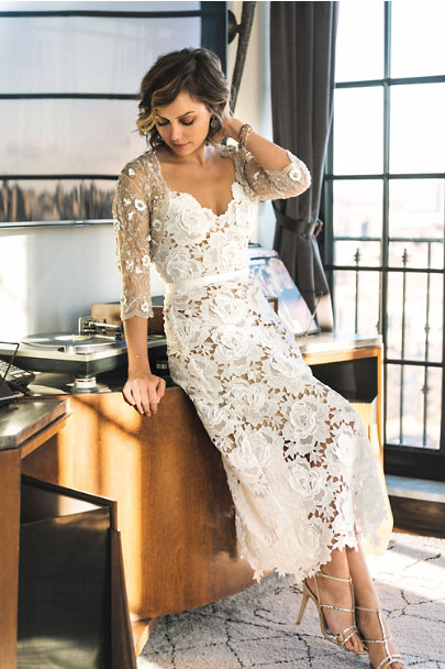 Catherine Deane Ivory Frida Dress | BHLDN