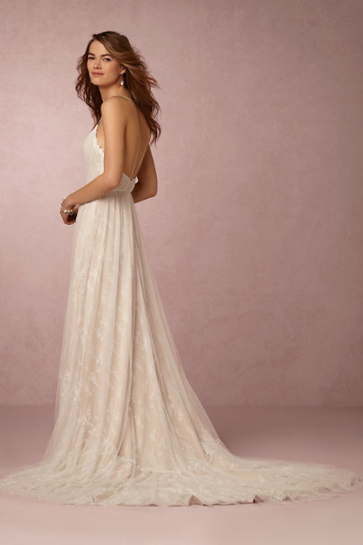 Ti Adora Ivory Lyric Gown | BHLDN