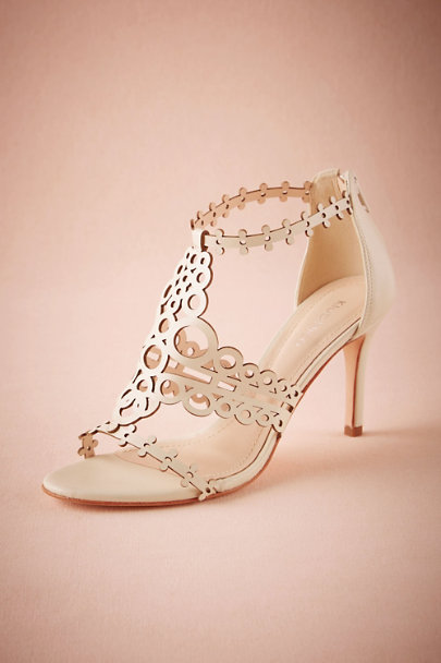 White Graciene Heels | BHLDN