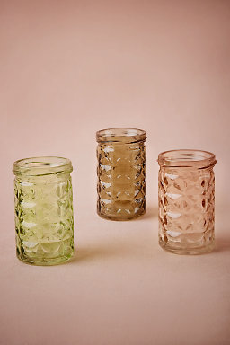 Geo Tinted Votives (3)