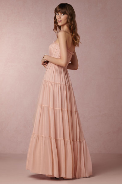 Jill Jill Stuart Rosy Nude Chelsea Dress | BHLDN