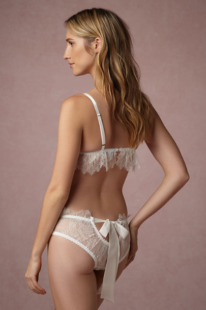 Bridal Trousseau Ivory Eternity Knickers | BHLDN
