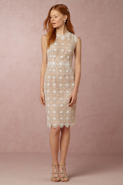 Sara Emanuel Ivory Myla Sheath | BHLDN