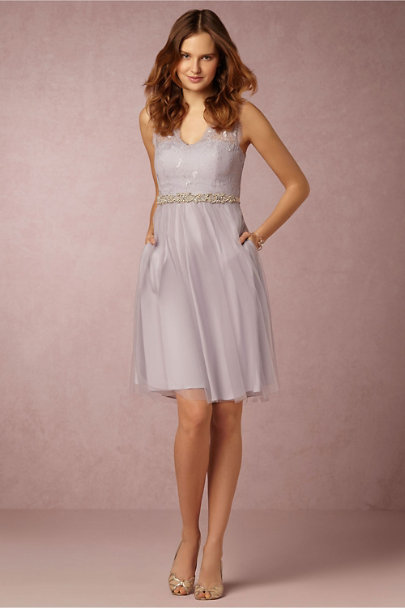 Hitherto Soft Lavender Lina Dress | BHLDN