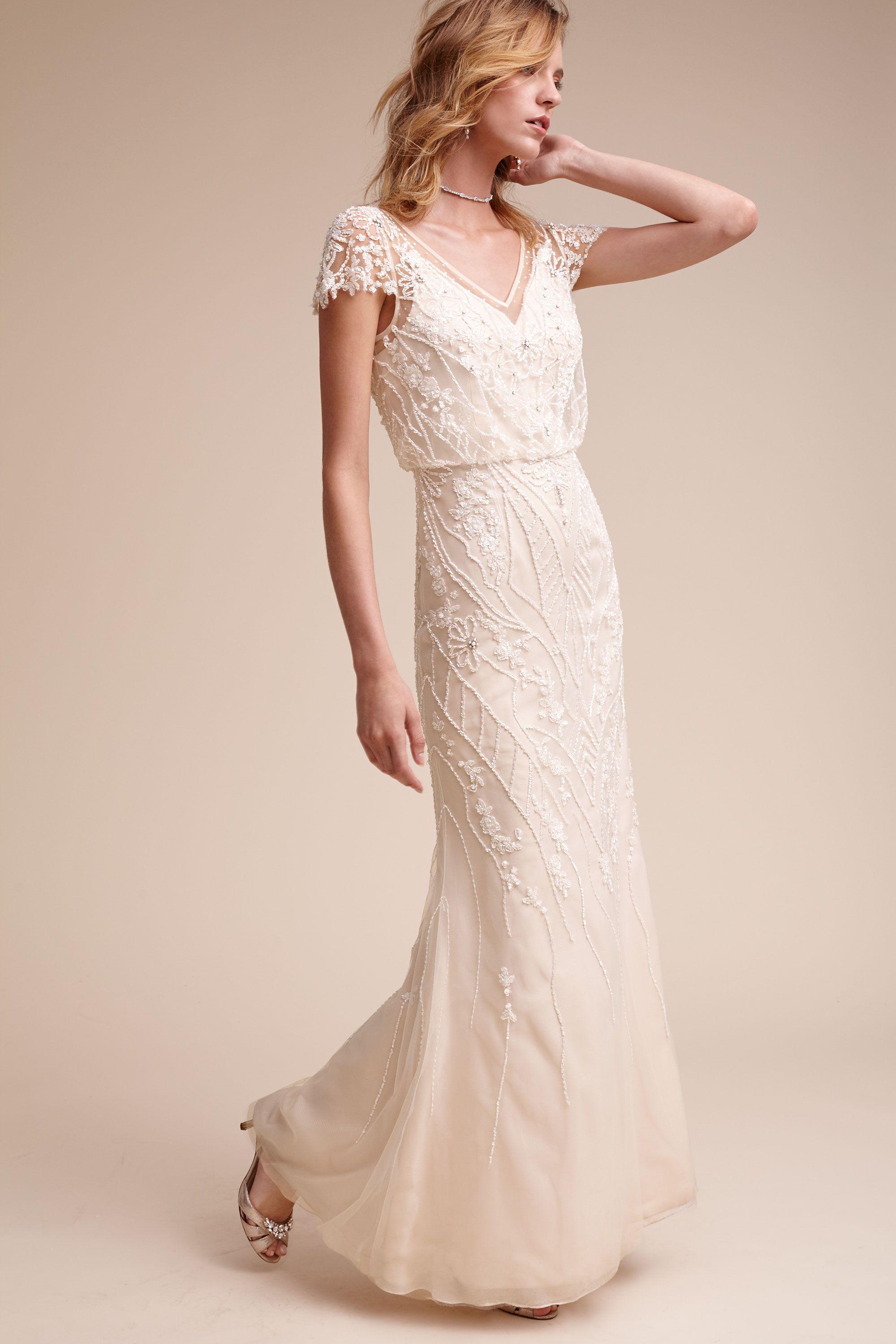 Wedding Vintage Wedding Dresses wedding dresses vintage simple gowns bhldn aurora gown gown