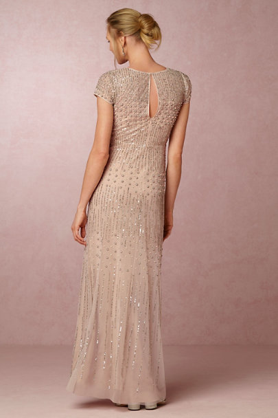 Adrianna Papell Shell Pink Berkley Dress | BHLDN