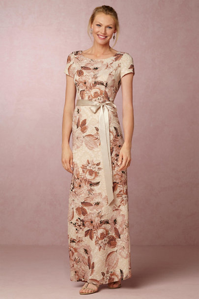 Adrianna Papell Antique Mauve Medina Dress | BHLDN