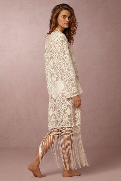 White Bay Fringed Tunic | BHLDN