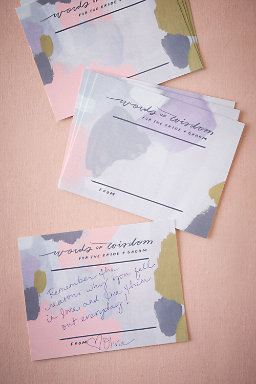 Watercolor Wisdom Cards (10)