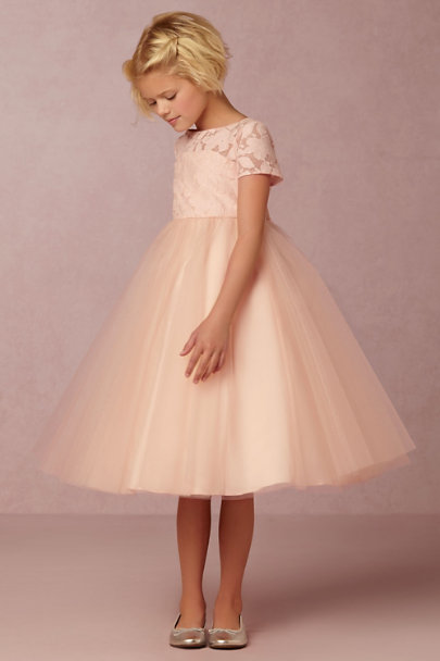 Watters Blush Portia Dress | BHLDN