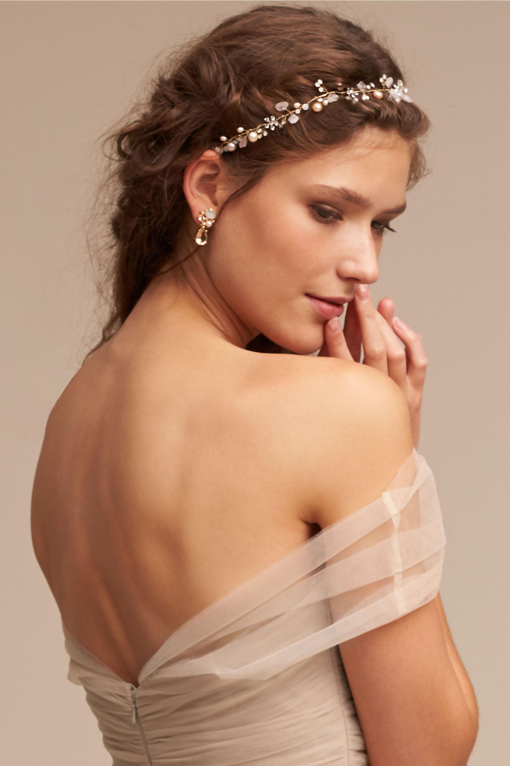 Hair Accessories For Wedding Guest - Rosales halo rosales halo