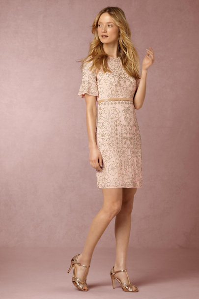 Needle & Thread Pastel Pink Edie Dress | BHLDN