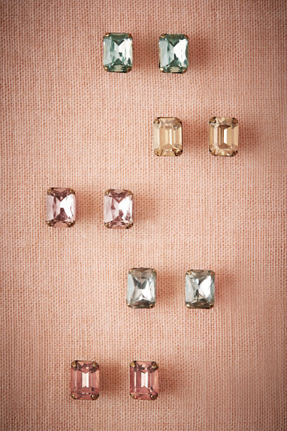 Sorrelli Light Peach Treasure Stud Earrings | BHLDN
