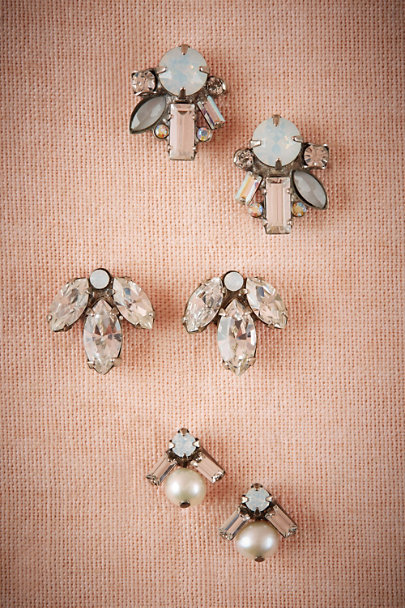 Sorrelli Silver Glacier Post Earrings | BHLDN