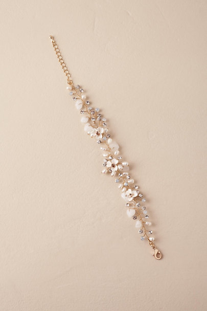 Justin & Taylor Gold Morning Dew Bracelet | BHLDN