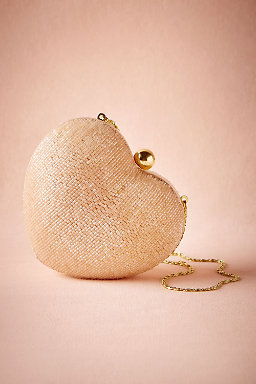 Blush Heart Clutch