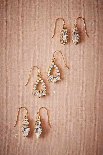 Sandy Hyun Gold Arctic Drop Earrings | BHLDN