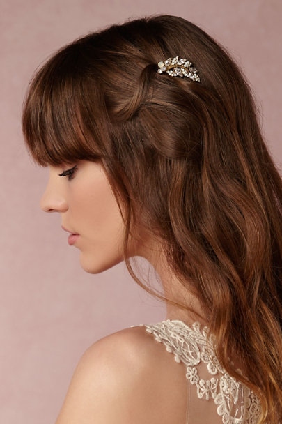 Miss Ellie Gold Amborella Comb | BHLDN