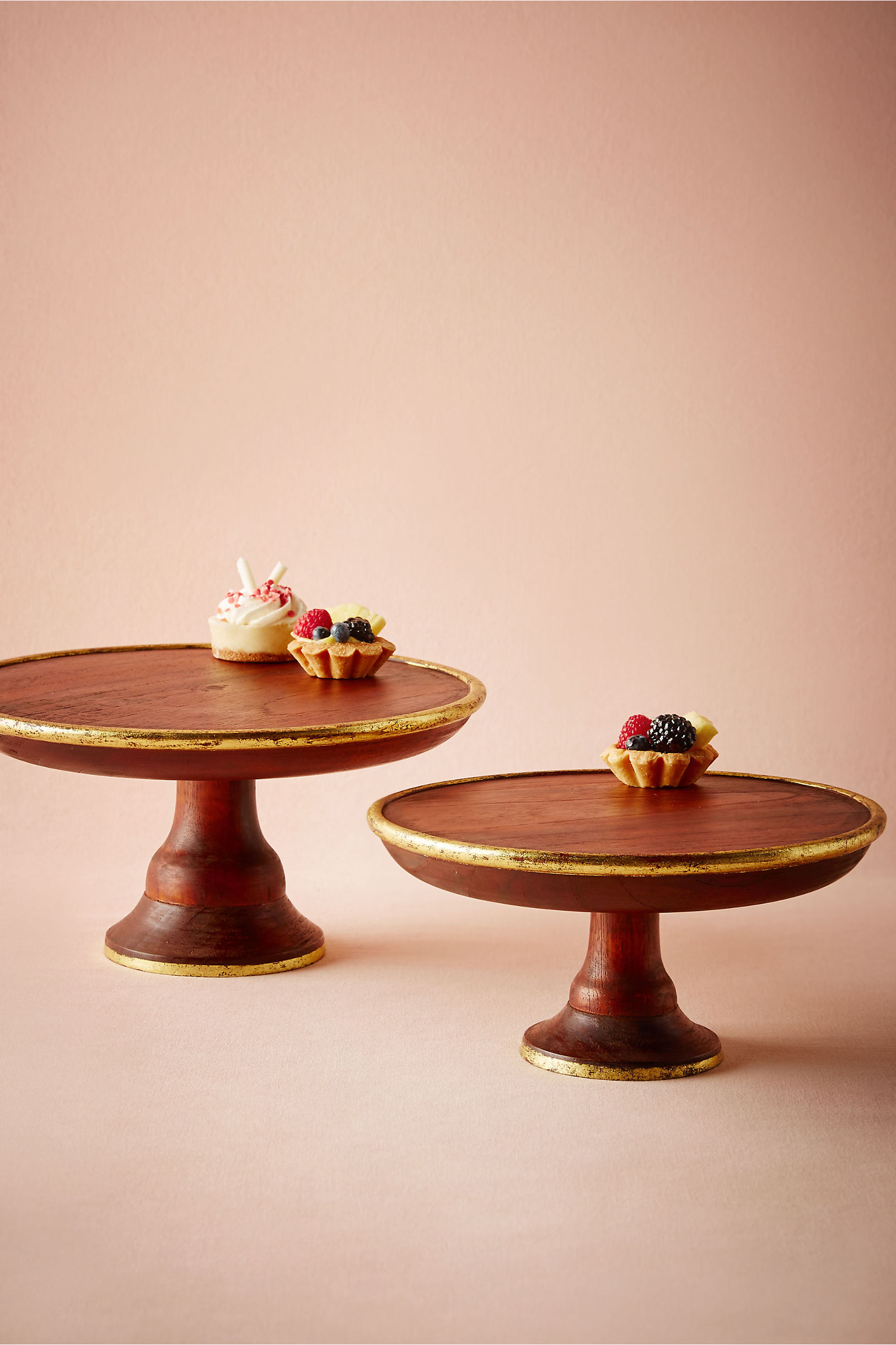 Decorative Cake Stands Gilded Wood Cake Stand In Sale Dccor Bhldn