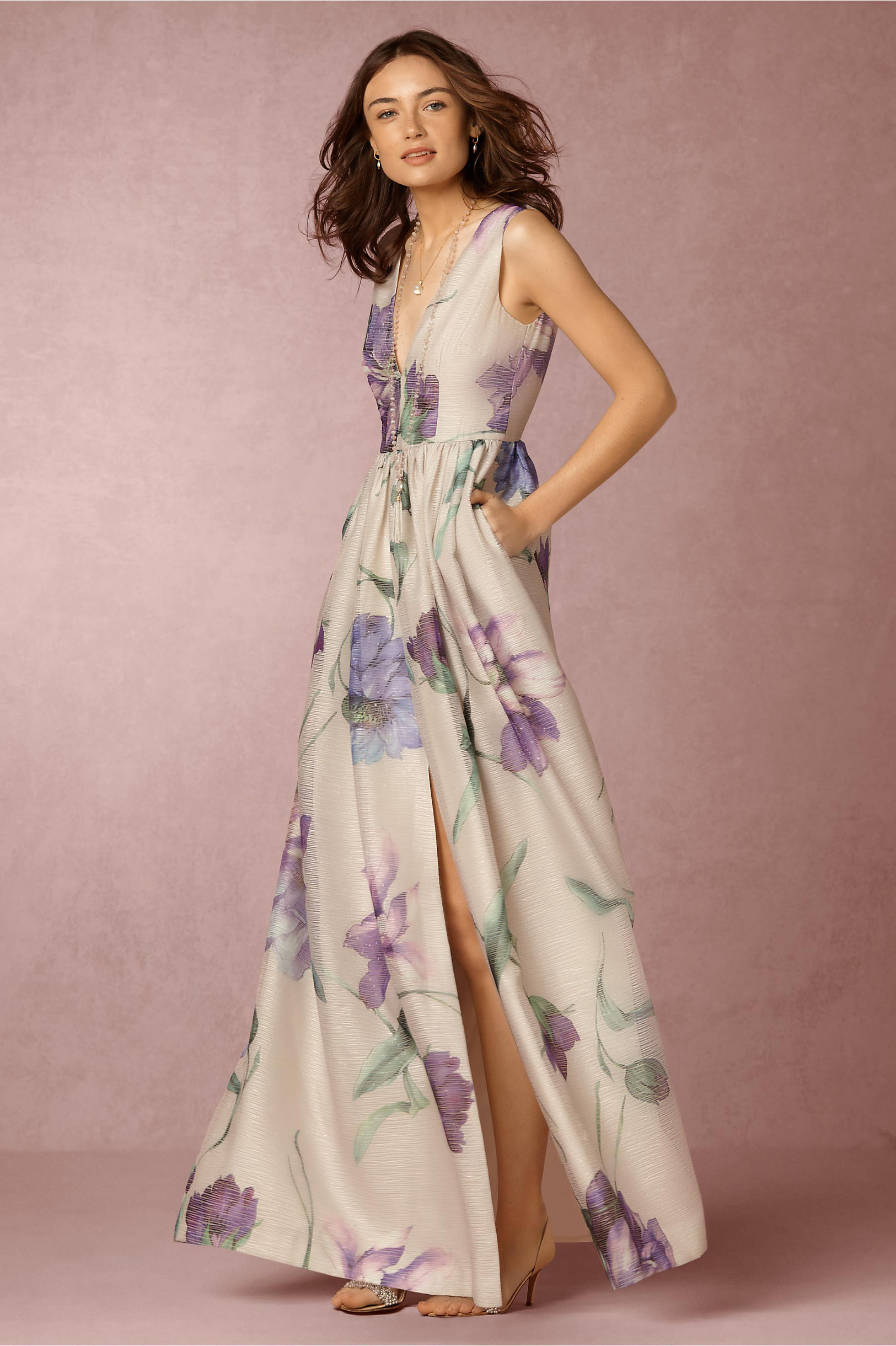 Pia Maxi Dress in Sale Dresses   BHLDN