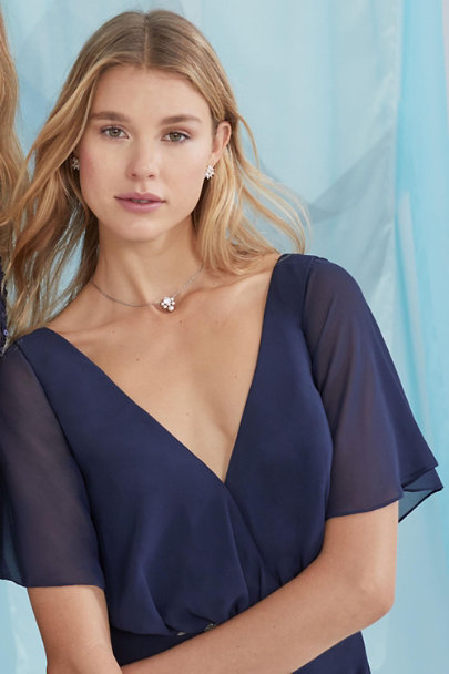 Anton Heunis Silver Tern Pendant Necklace | BHLDN