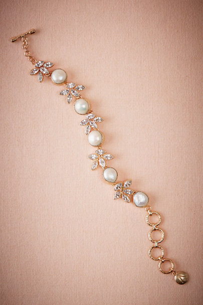 Atelier Mon Gold Pearl Tree Bracelet | BHLDN