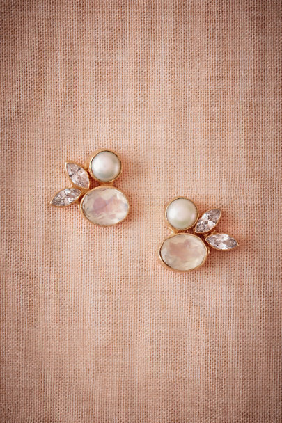 Atelier Mon Gold Ice Palace Earrings | BHLDN