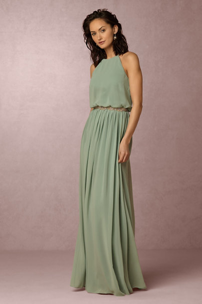 Donna Morgan Sea Glass Alana Dress | BHLDN