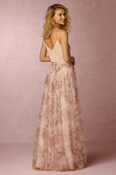 Jenny Yoo Lavender Multi Louise Tulle Skirt | BHLDN