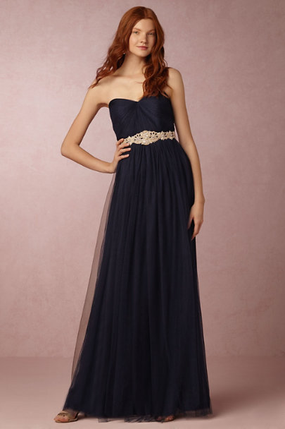 Gold Ajoure Fitted Belt  | BHLDN