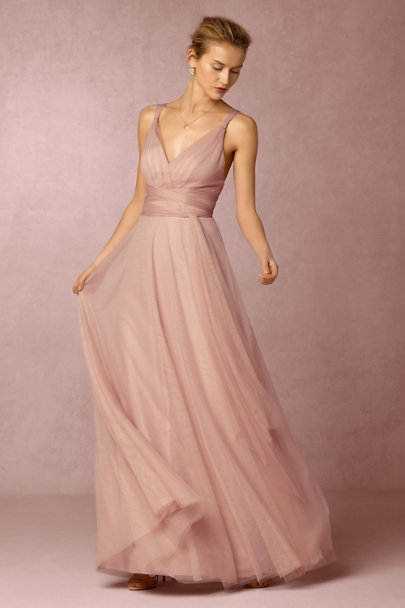 Hitherto Rosewood Zaria Dress | BHLDN