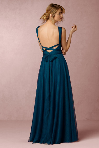 Hitherto Sapphire Zaria Dress | BHLDN