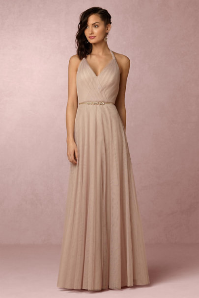 Hitherto Latte Zaria Dress | BHLDN