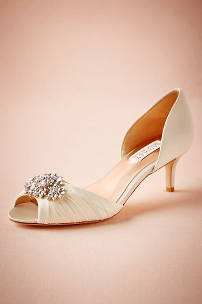 White Wedding Shoes Flats