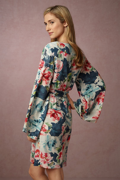 Plum Pretty Sugar Liris Botanic Garden Robe | BHLDN