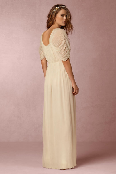 Mes Demoiselles Ecru Hermes Dress | BHLDN