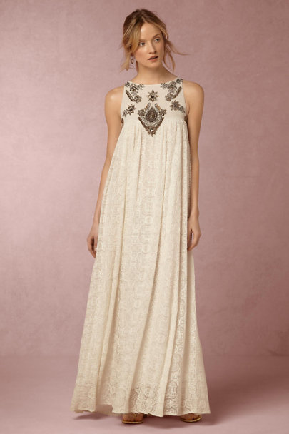 Korovilas White Fig Dress | BHLDN