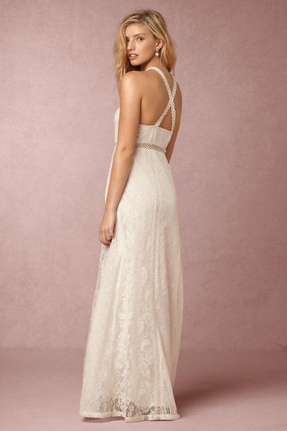 Yoana Baraschi White Sky Dress | BHLDN