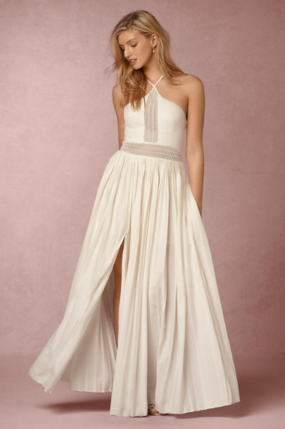 STYLESTALKER White Rivka Dress | BHLDN