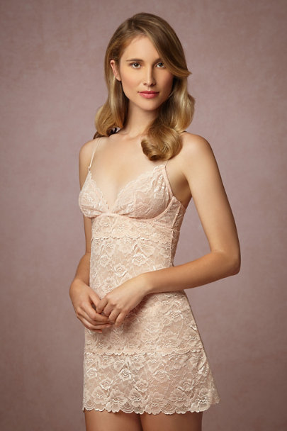 Blush Rose Seaside Lace Chemise | BHLDN