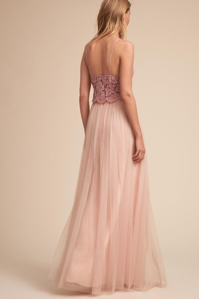 Jenny Yoo Blush Louise Tulle Skirt | BHLDN