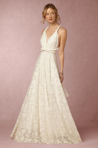 twobirds Ivory Noelle Dress | BHLDN