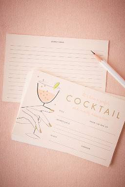 Cocktail Recipe Cards (12)