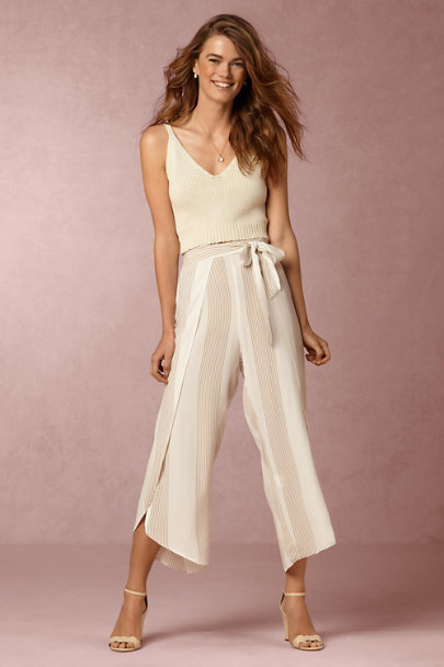 Creme Palms Knit Top | BHLDN