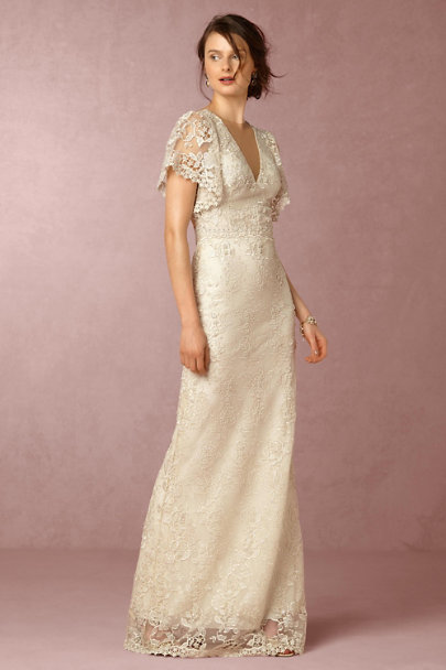 Patricia Bonaldi Ivory Verity Gown | BHLDN