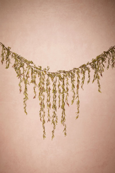 Green Trailing Jasmine Garland | BHLDN