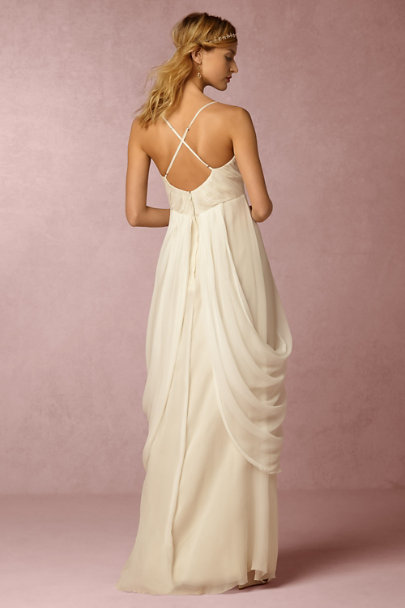 Saja Cream Ronnie Gown | BHLDN